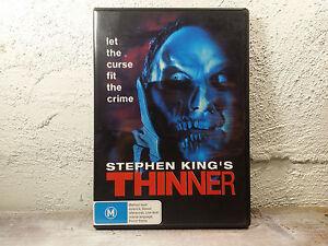 Stephen King's THINNER DVD Horror - REGION 4 AUSTRALIA