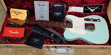 Fender 1963 Esquire Journeyman Relic Electric Guitar*Custom Shop*Surf Green*2016