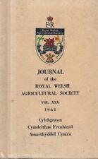 ROYAL WELSH JOURNAL (1961) NANTEOS - PEMBROKESHIRE FLOWER GROWING - GLAMORGAN