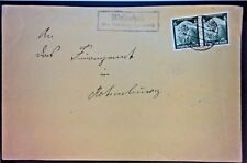 Germany 1935 Cover w/ 6pf Pair - Z1209
