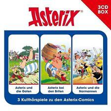 Asterix Hörspielbox Box 3 - Goten / Briten / Normannen - Hörbuch - CD - *NEU*