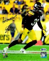 Minkah Fitzpatrick autographed signed inscribed 8x10 Pittsburgh Steelers Beckett