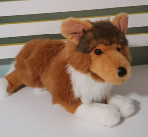 Douglas The Cuddle Toy Sheba Collie Dog Toy 2017 Stuffed Animal Toy 45cm Long!