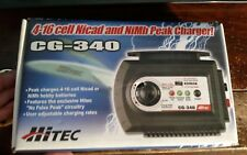 HiTEC 4-16 Cell Nicad NiCd & NiMh Peak Charger CG-340 NIB For Hobby Batteries