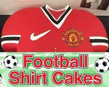 Football Shirt Badge and Make Edible Icing Strip - For Shirt Shaped Cakes