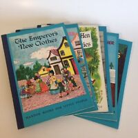 Lot of 6 MAXTON BOOKS FOR LITTLE PEOPLE 1946-1948 Illustrated by HARRIET all VG+