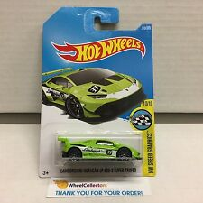 LAMBORGHINI HURACAN LP 620-2 SUPER TROFEO #319 * Green * 2017 Hot Wheels Case Q