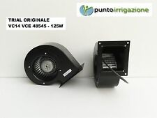 Ventilatore centrifugo TRIAL VC 14 VCE 48545 motore monofase caldaia sansa 125W