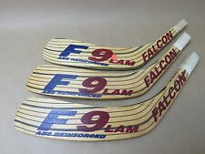 Lot of 3 FALCON F9 Lam ABS Hockey Stick Replacement Blades 2 x FXA 1 x FA LEFT