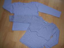 Lot 2 tee-shirts mauve + mauve rayé 5 ANS pour fille