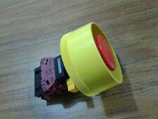 IDEC EMERGENCY HW-G01 600 V, 10 A, stop button switch