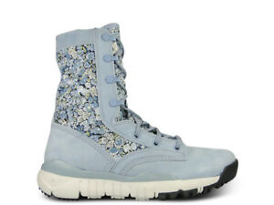 Womens NIKE SFB Special Field Boot Blue Size 8.5 Trainer Sneaker 476684 400