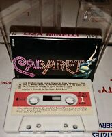 CABARET LIZA MINELLI CASSETTE TAPE 1976 PORTUGAL 1976 PAPER LABEL SPANISH LOOK!!