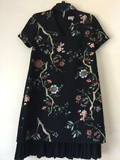 NANETTE nanette lepore Patterned Choker Neck Shift Dress. Size 2.