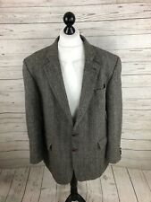 HARRIS TWEED Jacket/Blazer - 48R - Grey - Wool - Great Condition - Men's