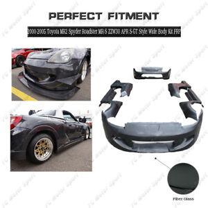 FRP AP S-GT Style Wide BodyKit For 00-05 Toyota MR2 Spyder Roadster MR-S ZZW30