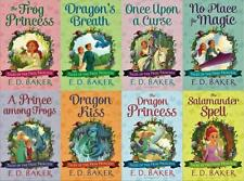 TALES OF THE FROG PRINCESS Fantasy Series by E D Baker PAPERBACK Collection 1-8