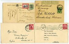 SOUTH AFRICA CAPE of GOOD HOPE SWA...4 ITEMS POSTAL STATIONERY...FINE USED