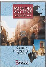 DVD MONDES ANCIENS RESSUCITES : secrets des mondes perdus READER'S DIGEST