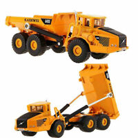 Alloy Toy Dump Truck Diecast Construction Vehicle Cars 1:50 Scale Lorry Model
