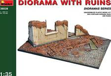 Miniart carretera con ruina diorama 1:35 ruined Building modelo-kit ruina casa