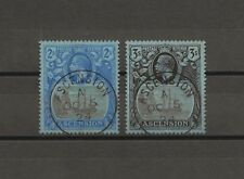 ASCENSION 1924/33 SG 19/20 USED Cat £220