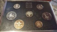 1987 United Kingdom Proof Coin Set Collection Royal Mint COA