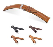 """RIOS1931 Shell Cordovan Watch Band """"Chicago"""", 18-22 mm, 4 colors, new!"""