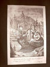 Ferdinando Carlo di Gonzaga-Nevers Incisione 1881 Dinastia di Savoia Oscar Pio