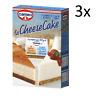 3x Cameo La Cheesecake kuchenmischung Italienisch Kuchen 280g