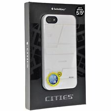SwitchEasy CITIES Durable Case with FRONT/BACK Film for iPhone SE 5 / 5s BEIJING