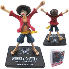 """Anime One Piece P.O.P. Luffy Strong World Zero 13cm/5.2"""" Figure New In Box"""