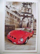 CARD FERRARI 250 GTO