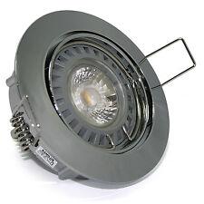 Lámpara Empotrable de Techo Lisa 230V Regulable GU10 5W = 50W Cob Power LED