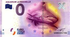 17 LA ROCHELLE Aquarium, 2016, Billet 0 € Souvenir