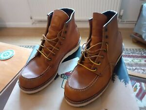 Mens red wing boots 10