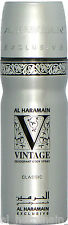 Vintage Classic Deo Body Spray Al Haramain - Pepper, Mandarin, Vanilla, Woody