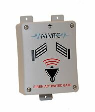 MMTC SAG-M 12/24V Siren Operated Sensor Gate Opener Activator Emergency Security
