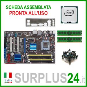 ASUS P5QL PRO + Core™2Quad Q9400 + 4GB RAM | Kit Scheda Madre 775 I/O #2057