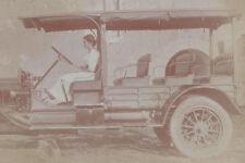 1910s? RP POSTCARD ARGENTINA PASSENGER TRUCK/TOUR BUS TRAVEL? PERSONAL?
