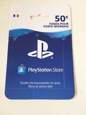 CARTE PSN 50 Euros PS4 PS3 PSP NEUVE