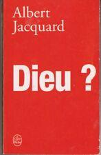 Dieu ? - Albert Jacquard
