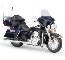 1:12 Maisto Harley Davidson 2013 FLHTK Electra Glide Motorcycle Model New Blue