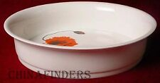 "WEDGWOOD china CORNPOPPY pattern Oval Vegetable Serving Bowl @ 9"" - Suzie Cooper"