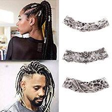 1x Viking Beard Bead Dreadlock Cuff Hair Beads Jewellery Celtic Silver TibetLZJA