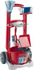 Klein VILEDA CLEANING TROLLEY Child'S Pretend Play Home Kitchen Toy BN