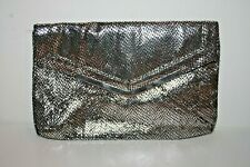 Dorothy Perkins Woman's Bag Handbag Fashion Designer Silver Envelope 28 x 17 cm