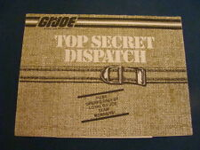 GI Joe Catalog Top Secret Dispatch Decent Shape GI JOE