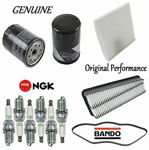 Tune Up Kit Belt Cabin Air Oil Filters Plugs for Toyota Tacoma V6;4.0L 2005-2011