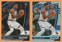 2020-21 Prizm Draft Picks RC Udoka Azubuike Silver Prizm #31 W/Base #31 Jazz